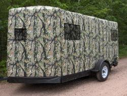 Trailer with Gods Country Early Season pattern.